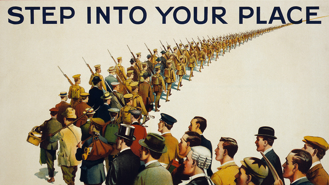 Renaissance der Kriegspropaganda